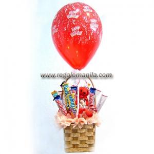 Hot Air Birthday Balloon