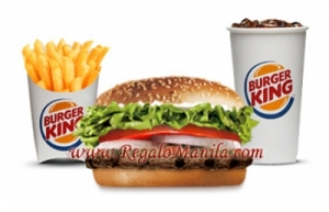 Burger King Whopper Jr With Cheese Meal