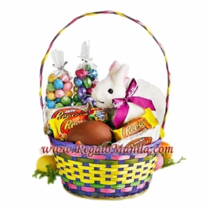 Send easter gift philippines easter bunny with sweet philippines little cute bunny easter negle Images