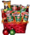 Family feast Christmas Basket