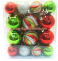 30-Pack Multi Shatter-proof Christmas Ornaments