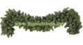 "9' x 12"" Pre-Lit Sequoia Pine Garland, 100 Clear Lamps"