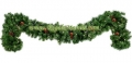 9' Pre-Lit Winchester Fir Garland, with Clear Lamps