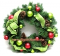 24-in. Decorative Pine Wreath