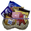 Assorted Chocolate Lover Basket Contents 2