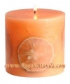 SCENTED ORANGE DELIGHT CANDLE