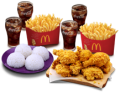 BFF CHICKEN BUNDLE FOR 4 with Rice