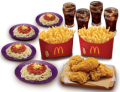 BFF CHICKEN BUNDLE FOR 3 with Spaghetti