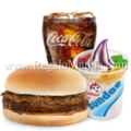 Value Meal: Yum with Adobo Flakes + Sundae Halo-Halo + Choice of Drink
