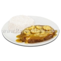 1-pc. Burger Steak with Rice
