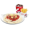 Jolly Spaghetti with Crispy Fries