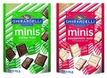 Ghirardelli Minis Pouch, Limited Edition Winter Mint & Peppermint Bark