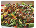 Grilled BBQ Chicken Salad