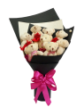 8 Mini Bear in a Bouquet