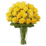 Premium Yellow Long Stem Roses