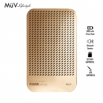 MUV Bluetooth Speaker With 5000 mAh Powerbank