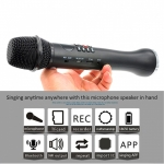 Portable Magic Karaoke Microphone Speaker With SD Card Recording