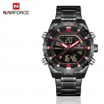 Naviforce 9136S Chronograph Military Dual Display Watch
