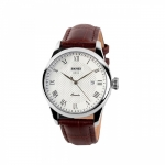 SKMEI LG9058CL Men Casual Leather Watch Brown