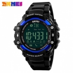 SKMEI DG1227 50m Waterproof Sports Bluetooth Watch - Black