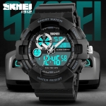SKMEI 1312 WATER RESIST DUAL MODE SPORT WATCH