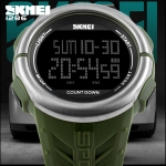SKMEI 1286 MULTIFUNCTION SPORT WATCH - GREEN
