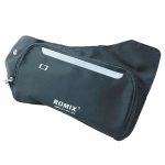 Romix Slim Cross Body Bag - Black