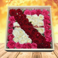 Queenie Sash Rose Box