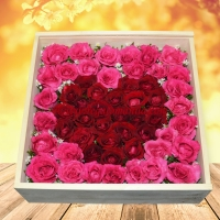 Roxanne - Heart Rose Box