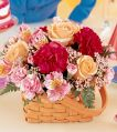 Basket Bouquet